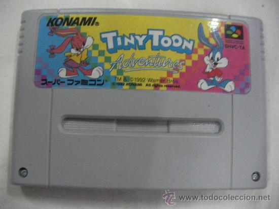 AVENTURAS TINNY TOON (Juguetes - Videojuegos y Consolas - Nintendo - SuperNintendo)