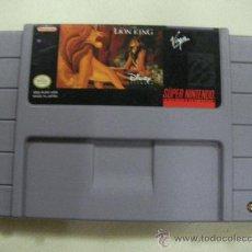 Videojuegos y Consolas: JUEGO SUPERNINTENDO REY LEON. Lote 29246250