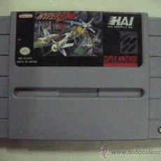 Videojuegos y Consolas: ANTIGUO JUEGO SUPER NINTENDO HYPER ZONE. Lote 30514709