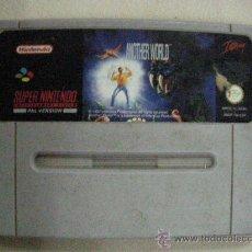 Videojuegos y Consolas: ANTIGUO JUEGO SUPER NINTENDO ANOTHER WORLD. Lote 30949666