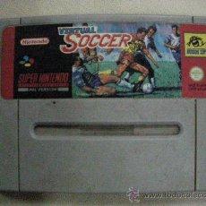 Videojuegos y Consolas: ANTIGUO JUEGO SUPER NINTENDO VIRTUAL SOCCER. Lote 30949783