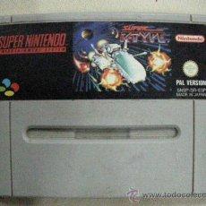 Videojuegos y Consolas: ANTIGUO JUEGO SUPER NINTENDO SUPER R-TYPE. Lote 30976601