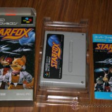Videojogos e Consolas: STARFOX - FAMICOM SUPER NINTENDO SUPERFAMICOM SUPERNINTENDO JAPAN. Lote 31530829