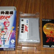 Videojuegos y Consolas: ZERO - FAMICOM SUPER NINTENDO SUPERFAMICOM SUPERNINTENDO JAPAN. Lote 31530963