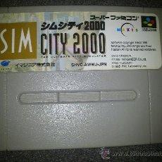 Videojuegos y Consolas: JUEGO SUPER NINTENDO SUPERFAMICOM VERSION JAPONESA SIM CITY 2000. Lote 31673158