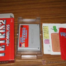 Videojuegos y Consolas: TETRIS - FAMICOM SUPER NINTENDO SUPERFAMICOM SUPERNINTENDO JAPAN. Lote 31685398