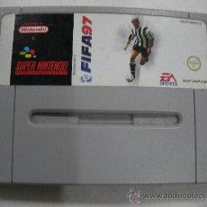 Videojuegos y Consolas: ANTIGUO JUEGO SUPER NINTENDO - FIFA 97. Lote 32969121