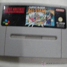 Videojuegos y Consolas: ANTIGUO JUEGO SUPER NINTENDO - SUPER MARIO ALL STARS. Lote 32969143