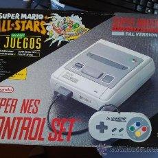 Videojuegos y Consolas: CONSOLA SUPER NINTENDO EN CAJA. Lote 72840093