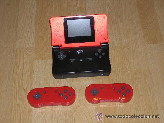 Videojuegos y Consolas: Consola SUPER NINTENDO SNES Portatil con CAJA 2 MANDOS INALAMBRICOS Cargador BATERIA - Foto 3 - 33763698