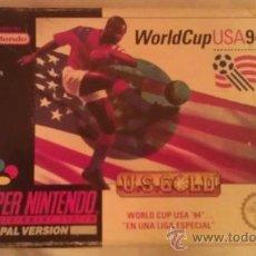 Videojuegos y Consolas: WORLD CUP USA ´94 SUPER NINTENDO PAL ESPAÑA (SNES). Lote 34429315
