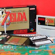 Videojuegos y Consolas: THE LEGEND OF ZELDA A LINK TO THE PAST SUPER NINTENDO PAL VIDEOJUEGO . Lote 34741238