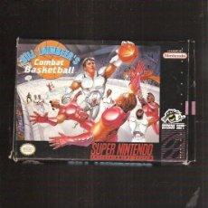 Videojuegos y Consolas: SUPER NINTENDO COMBAT BASKETBALL. Lote 35244877