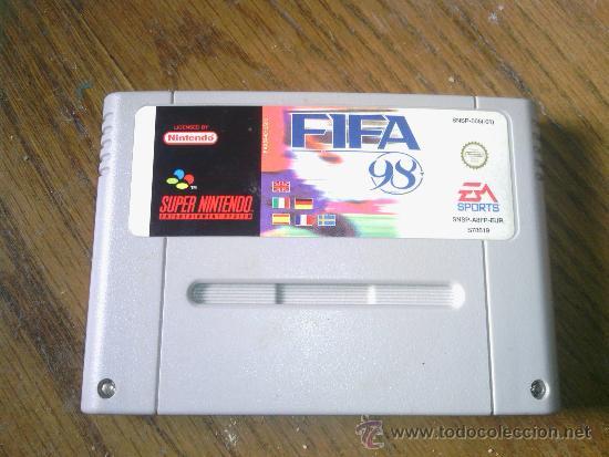 FIFA 98 SUPERNINTENDO (Juguetes - Videojuegos y Consolas - Nintendo - SuperNintendo)