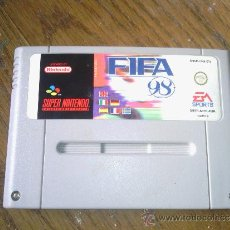 Videojuegos y Consolas: FIFA 98 SUPERNINTENDO. Lote 36022478