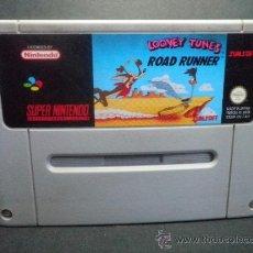 Videojuegos y Consolas: SUPER LOONEY TUNES ROAD RUNNER - SUPERNINTENDO - SUPER NINTENDO - SNES. Lote 36714222