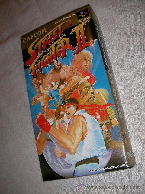 ANTIGUO JUEGO NINTENDO STREET FIGHTER II - NUEVO EN SU CAJA (Juguetes - Videojuegos y Consolas - Nintendo - SuperNintendo)