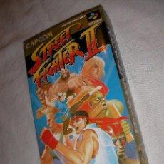 Videojuegos y Consolas: ANTIGUO JUEGO NINTENDO STREET FIGHTER II - NUEVO EN SU CAJA. Lote 37514731