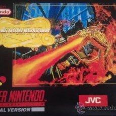 Videojuegos y Consolas: SYVALION SUPER NINTENDO (SNES). Lote 37781218