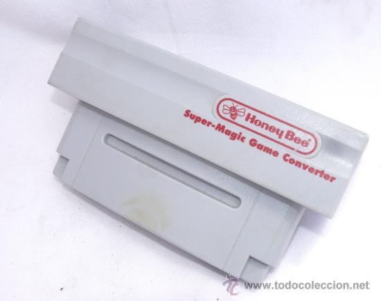 UNICO! TRANSFORMADOR PAL NTCS PARA SUPER NINTENDO BEE HONEY PARA JUEGO CONSOLA REF C2 (Juguetes - Videojuegos y Consolas - Nintendo - SuperNintendo)
