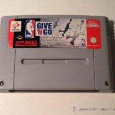 Videojuegos y Consolas: NBA GIVE´N GO - SUPER NINTENDO- 1.995. Lote 58468146