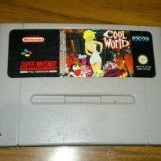 Videojuegos y Consolas: COOL WORLD - SUPERNINTENDO - SUPER NINTENDO. Lote 85134207