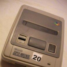 Videojuegos y Consolas: ANTIGUA CONSOLA SUPERNINTENDO. Lote 39974872