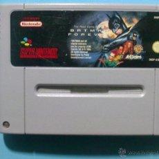 Videojuegos y Consolas: SNES SUPER NINTENDO BATMAN FOREVER PAL. Lote 40622751