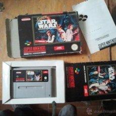Videojuegos y Consolas: JUEGO PARA LA SUPER NINTENDO COMPLETO STAR WARS . Lote 40693310