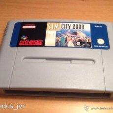 Videojuegos y Consolas: SIM CITY 2000 SIMCITY JUEGO PARA SUPER NINTENDO SNES PAL SÓLO CARTUCHO EN. Lote 40734349