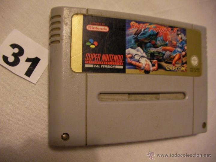 ANTIGUO JUEGO SUPER NINTENDO - STREET FIGHTER II (Juguetes - Videojuegos y Consolas - Nintendo - SuperNintendo)