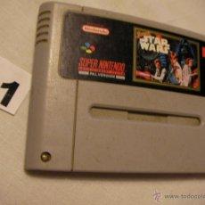 Videojuegos y Consolas: ANTIGUO JUEGO SUPER NINTENDO - STAR WARS. Lote 42325369