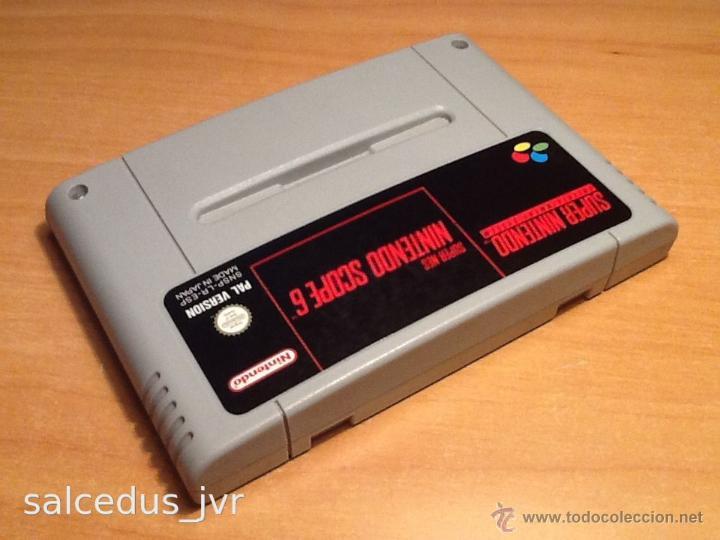 Videojuegos y Consolas: Nintendo Scope 6 Juego para Super Nintendo SNES PAL ESP Versión Española Cartucho en Buen Estado - Foto 2 - 43482702