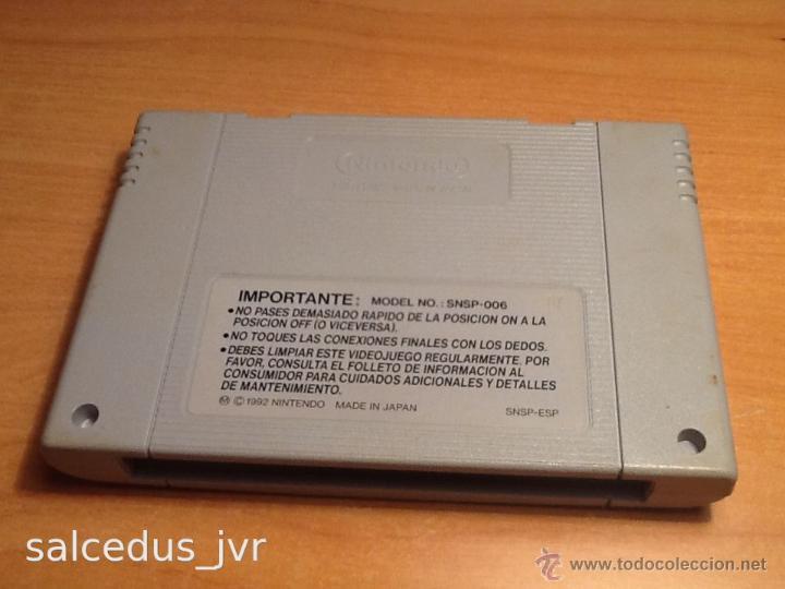 Videojuegos y Consolas: Nintendo Scope 6 Juego para Super Nintendo SNES PAL ESP Versión Española Cartucho en Buen Estado - Foto 3 - 43482702