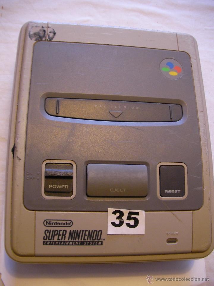 ANTIGUA CONSOLA SUPERNINTENDO (Juguetes - Videojuegos y Consolas - Nintendo - SuperNintendo)