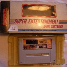 Videojuegos y Consolas: ANTIGUO JUEGO SUPER NINTENDO 4 EN 1 - NUEVO EN SU CAJA - ENVIO GRATIS A ESPAÑA . Lote 43880419