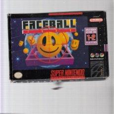 Videojuegos y Consolas: FACEBALL. Lote 44000789