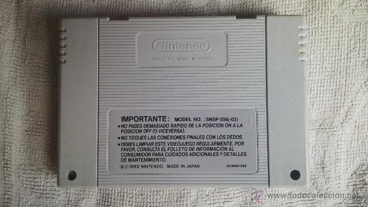 Videojuegos y Consolas: Super Nintendo: Super Soccer - Foto 2 - 44008393