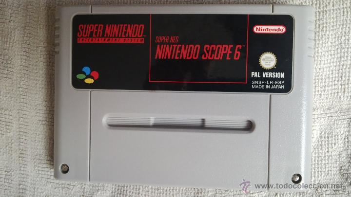 SUPER NINTENDO: NINTENDO SCOPE 6 (Juguetes - Videojuegos y Consolas - Nintendo - SuperNintendo)