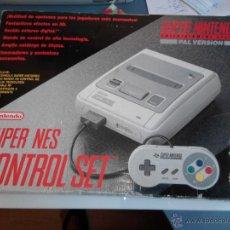 Videojuegos y Consolas: CONSOLA SUPER NINTENDO. Lote 166391632