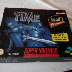 Videojuegos y Consolas: JUEGAZO PARA LA SUPER NINTENDO ILLUSION OF TIME EN CAJA GRANDE. Lote 231403635