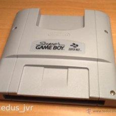 Videojuegos y Consolas: ADAPTADOR SUPER NINTENDO GAMEBOY ACCESORIO PARA JUEGOS DE GAME BOY EN CONSOLA SNES. Lote 45288751