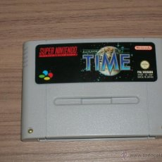 ILLUSION OF TIME juego Original SUPER NINTENDO SNES Pal España CASTELLANO