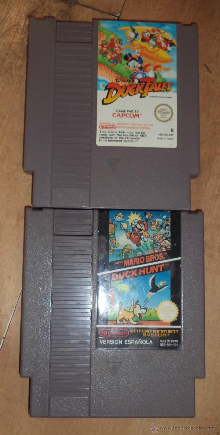 Videojuegos y Consolas: Consola de Nintendo,1985,con dos juegos,original,comprada en una casa,es la de las fotos - Foto 5 - 275314863