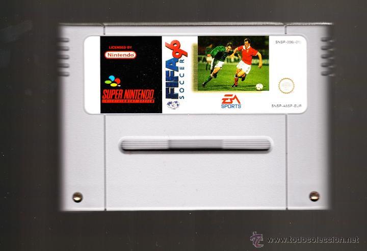 FIFA 96 SOCCER SUPERNINTENDO (Juguetes - Videojuegos y Consolas - Nintendo - SuperNintendo)