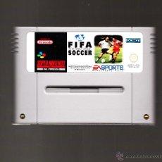 Videojuegos y Consolas: CARTUCHO FIFA INTERNATIONAL SOCCER SUPER NINTENDO. Lote 47082058