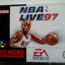 Videojuegos y Consolas: NBA LIVE 97-SUPERNINTENDO. Lote 47675649