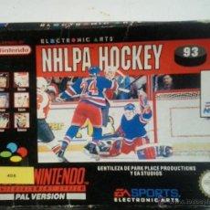 Videojuegos y Consolas: NHLPA HOCKEY-SUPERNINTENDO. Lote 47675713