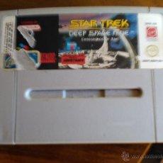 Videojuegos y Consolas: JUEGO SUPERNINTENDO STAR TREEK-DEEP SPACE NINE.. Lote 47735303