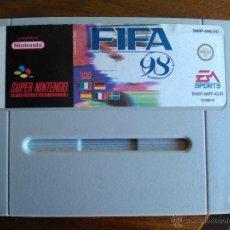 Videojuegos y Consolas: JUEGO SUPERNINTENDO FIFA 98.. Lote 47735612
